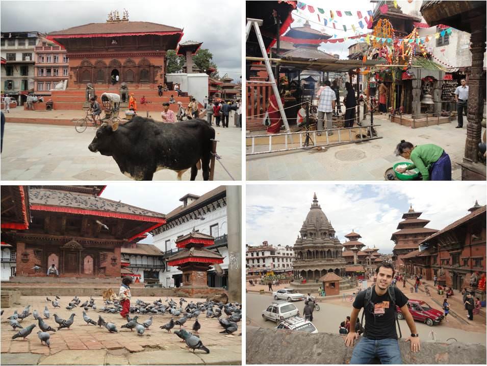 turismo en Nepal - Kathmandu - Plaza Durbar