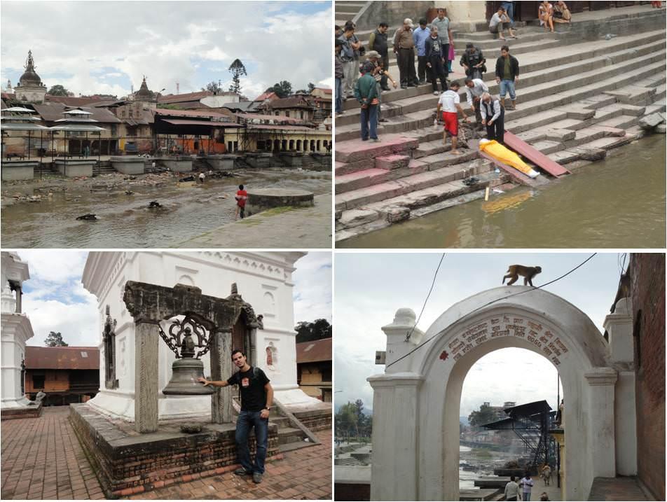 viajar a Nepal Kathmandu - Templo de Boudhanath Pashupatinath