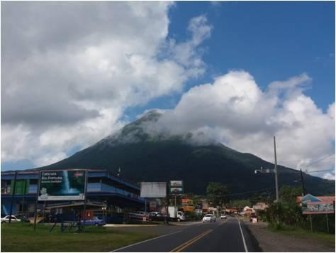 Lugares de interés en Costa Rica - Volcán Arenal