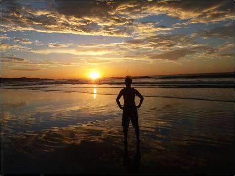 Playas de Costa Rica - Puesta de Sol en Tamarindo