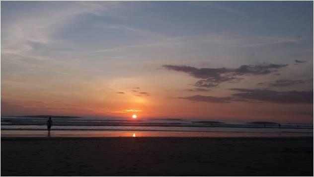 Atardecer en Costa Rica - Playa Santa Teresa