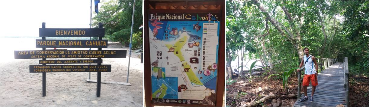 Turismo en Parque Nacional de Cahuita