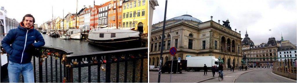Nihavn y Casco Antiguo de Copenhague