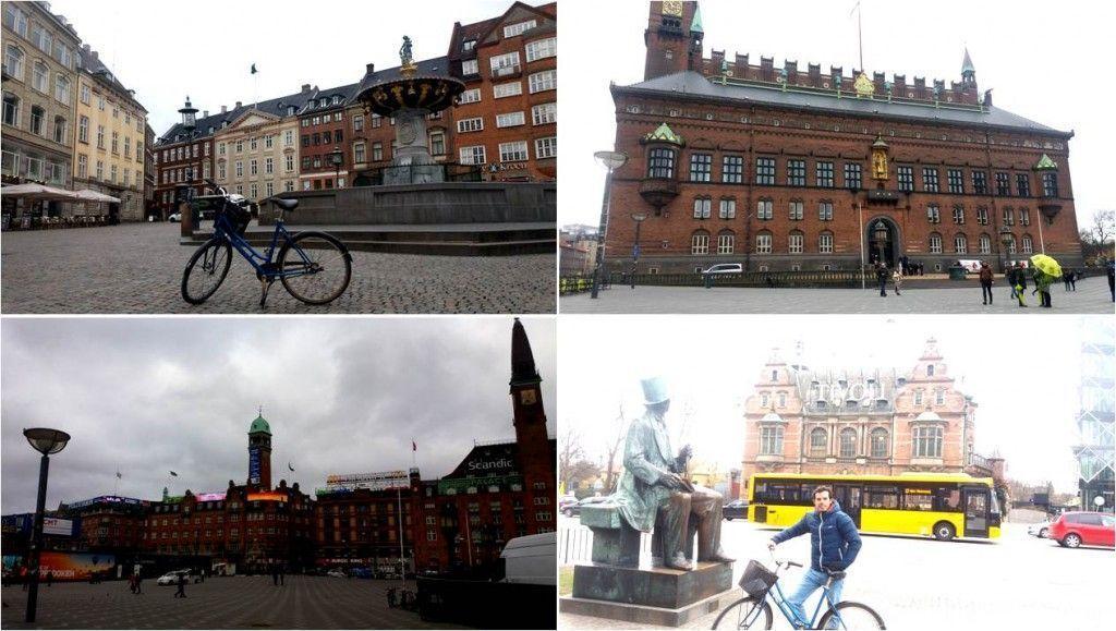 Turismo en Copenhague-Plaza del ayuntamiento y Parque Tivoli