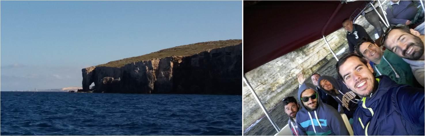 Excursión isla de comino en Malta - Roca del Elefante