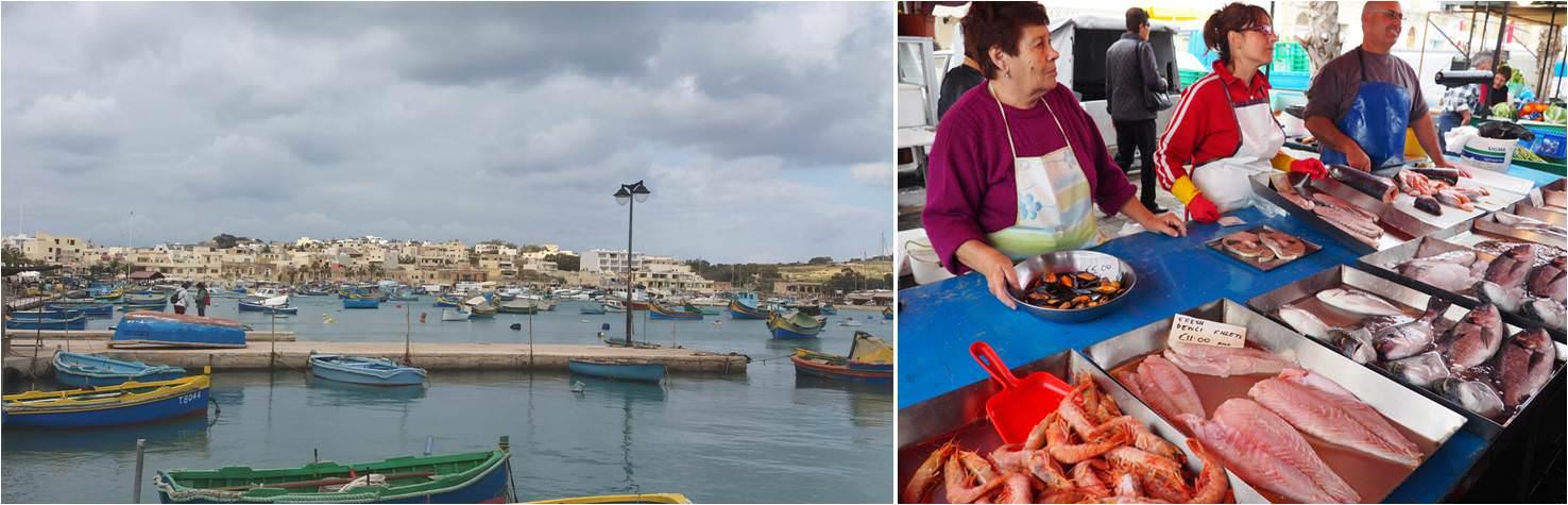 Mercado de Marsaxlokk-Malta