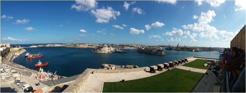 Qué ver en Malta - Barraka Gardens