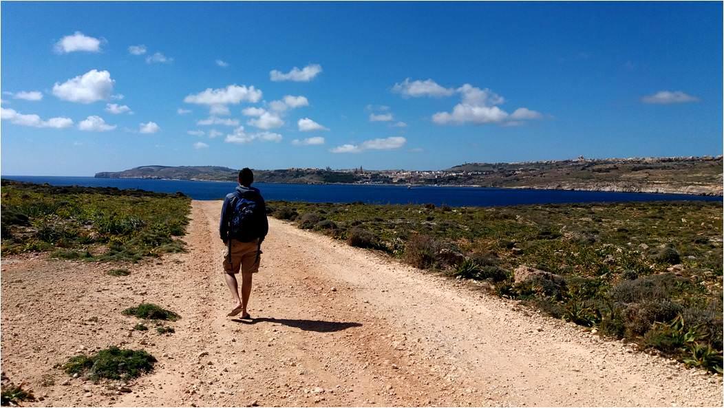 Qué ver en Malta - Trekking en Isla de Comino