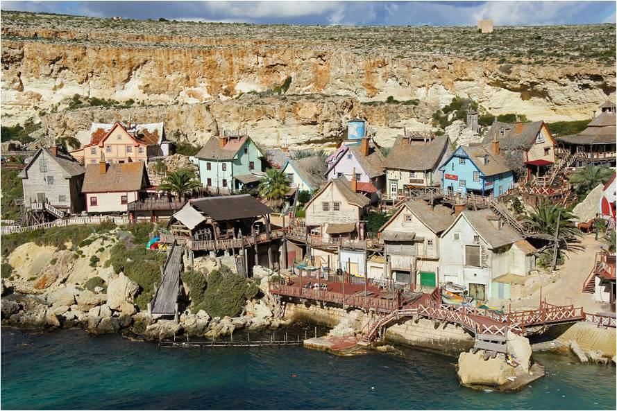 Que ver en Malta-Popeye Village