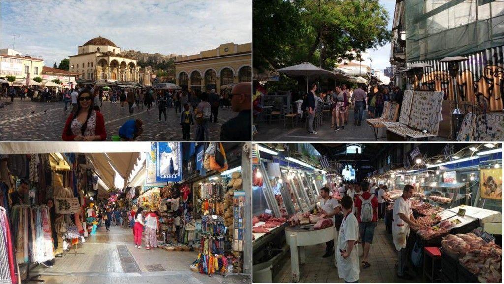 Mercado central de Atenas-Monastiraki