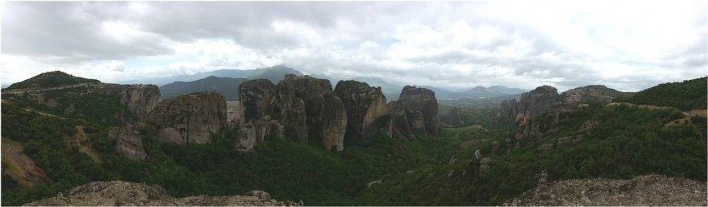 Montañas de Meteora en Grecia