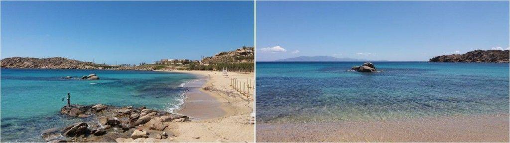 Playas de Mykonos - Playa Paranga