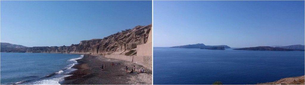 Playas de Santorini-Vlichada-Akrotiri