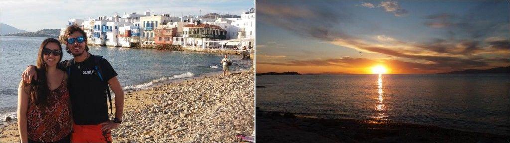 Puesta de Sol en Mykonos - Chora - Grecia