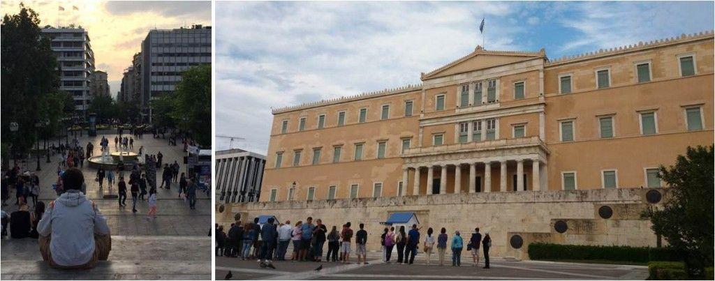 Qué ver en Atenas - Plaza Sintagma - Palacio de gobierno