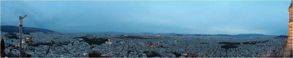 Qué ver en Atenas-Vistas desde Monte Licabeto