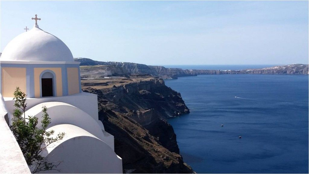 Turismo en Grecia-Santorini