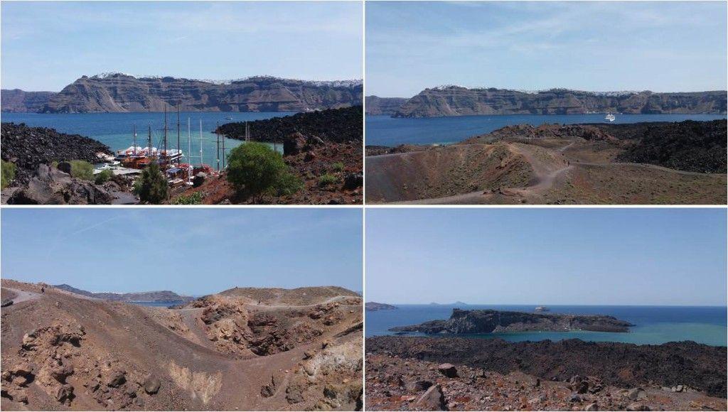 Viajar a Santorini-Volcán Nea Kameni