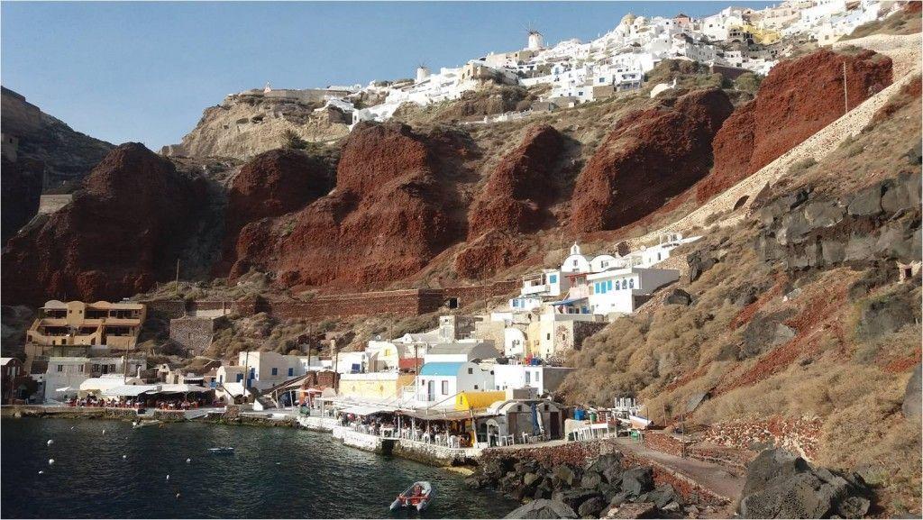 Viaje a Santorini-Amoudi Bay