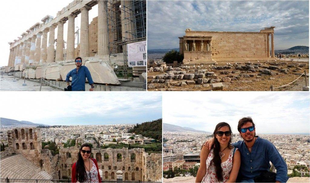 Visitar la Acrópolis de Atenas en Grecia
