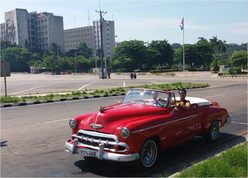 Alquilar coche en Cuba