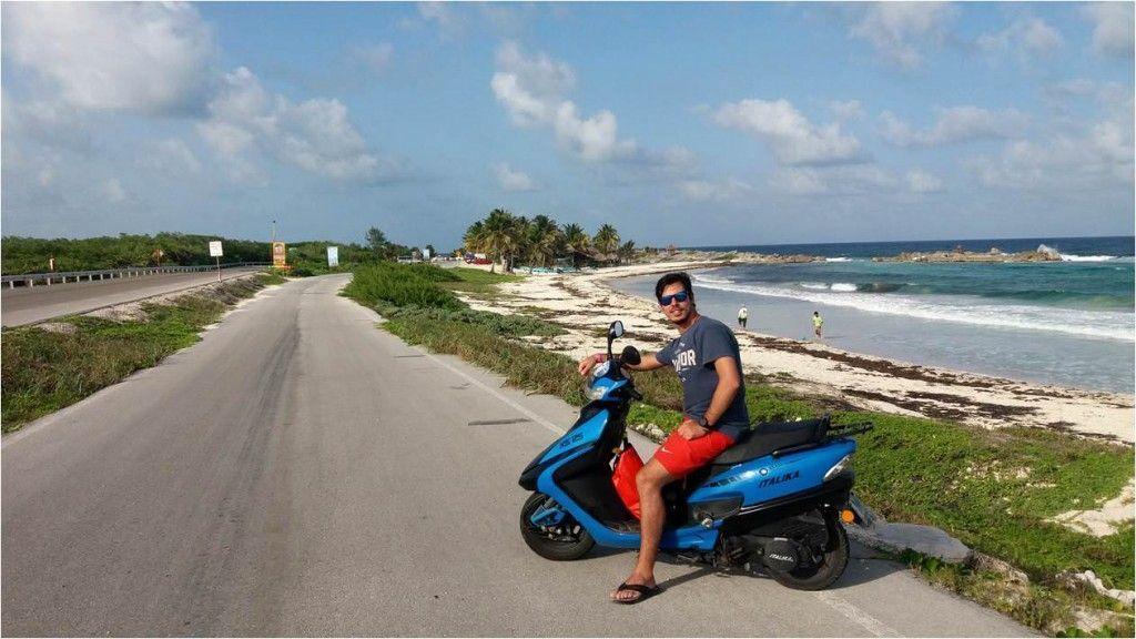 Alquilar moto en Cozumel