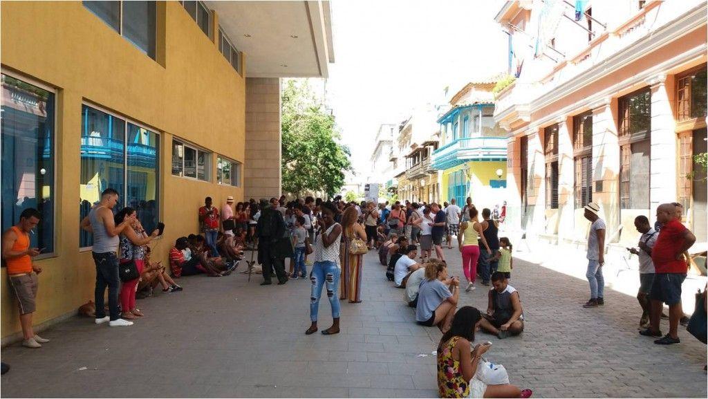 Conexión a internet en Cuba