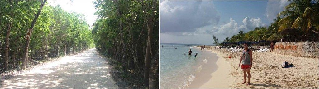 Playa de Palancar en Cozumel