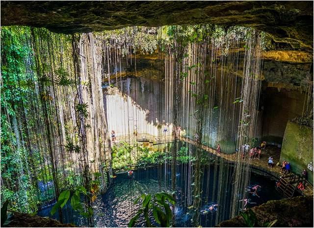 Qué ver en la Riviera Maya - Cenote Ik Kil