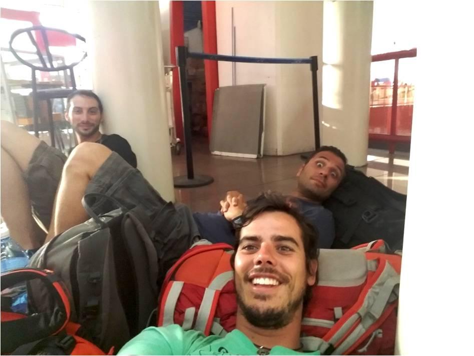 Retrasos en el aeropuerto de la Habana