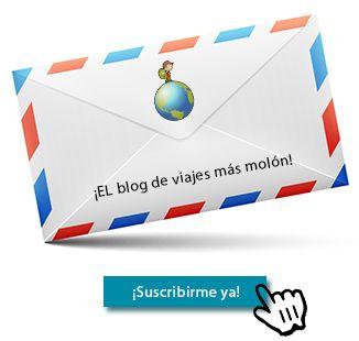 Suscribir al blog de viajes y aventura TGDV