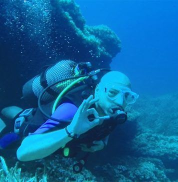 Bautismo de buceo en Menorca