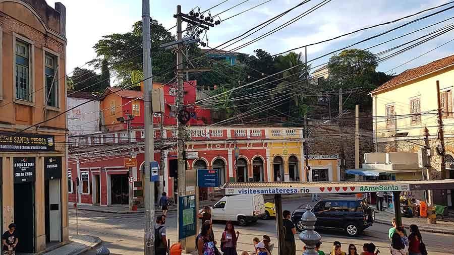 Barrio de Santa teresa en Río de Janeiro