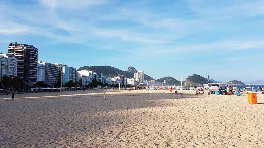 Playas en Río de Janeiro - Playa de Copacabana