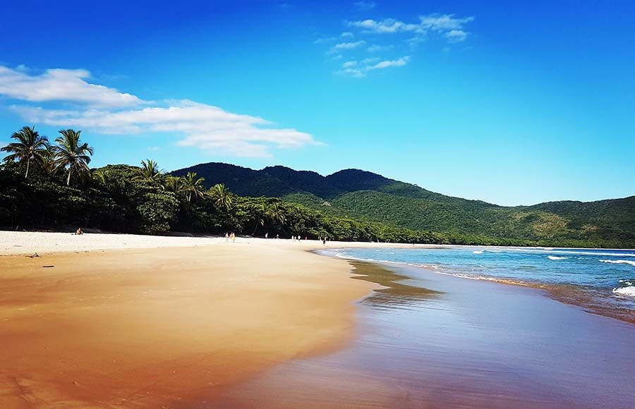 Playas en Ilha Grande - Playa Lopes Mendes