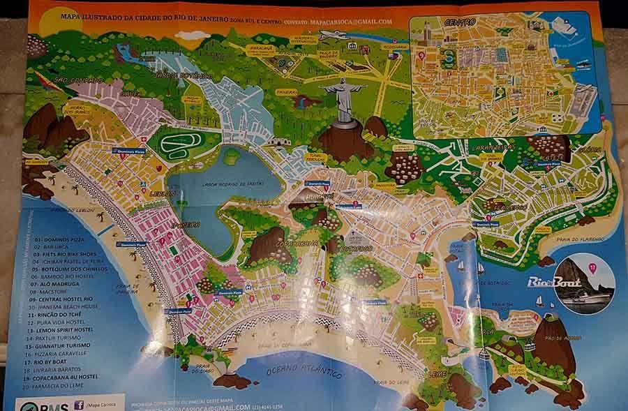 Mapa de Río de Janeiro