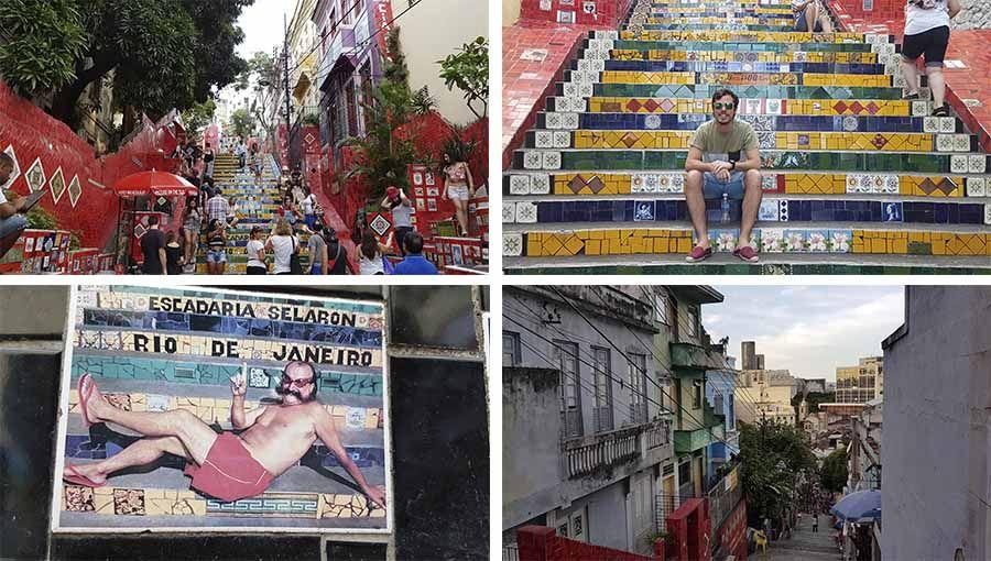 Lugares imperdibles en Río de Janeiro - Escala colorida
