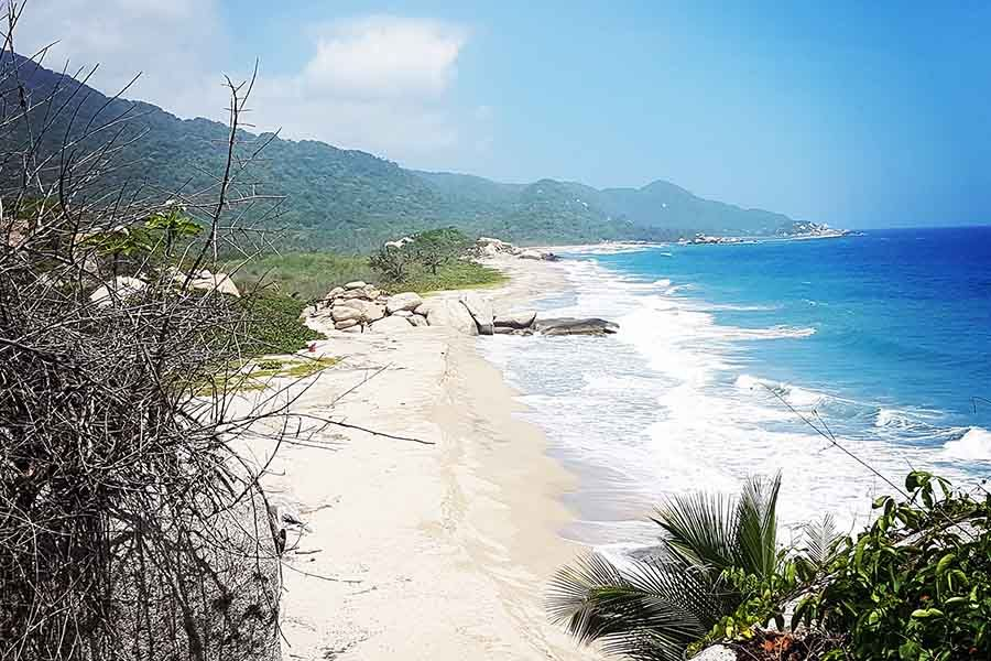 Playas en el Parque Tayrona Santa Marta Colombia