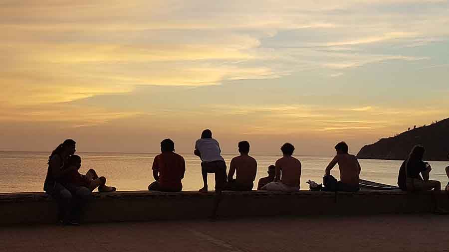 Puesta de Sol en Taganga