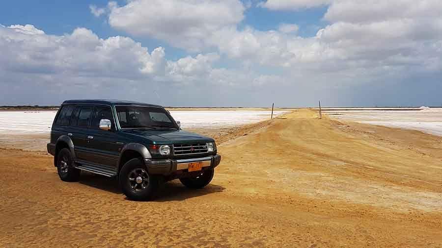Viaje a La Guajira - Minas de sal de Manauri