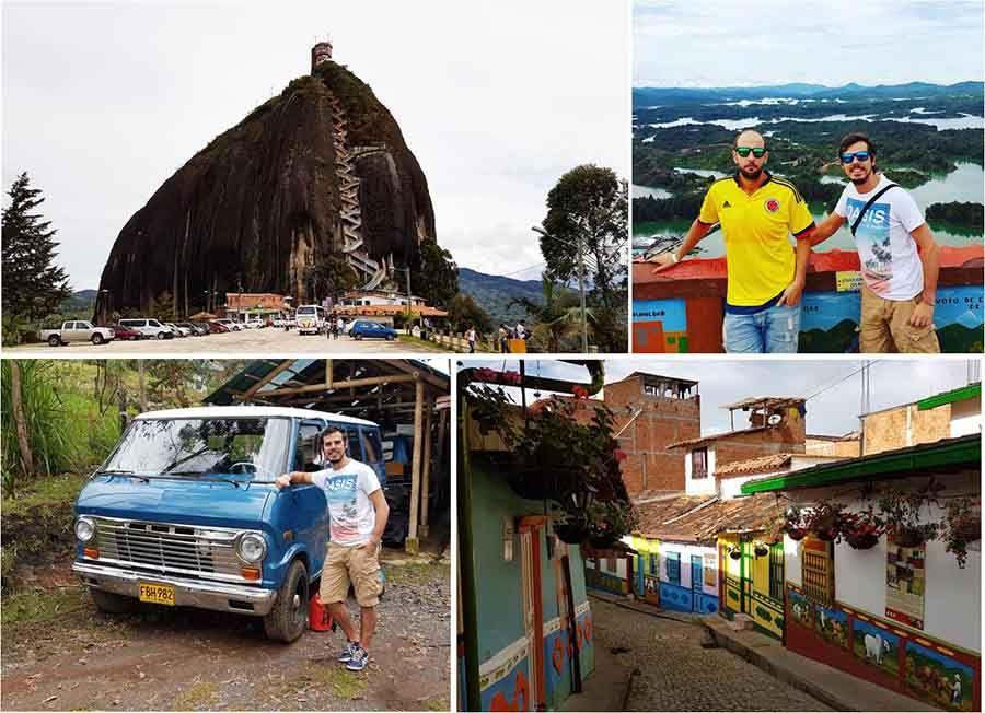 Visitar Guatapé y subir al Peñón - Medellin
