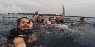 buceo en islas del rosario