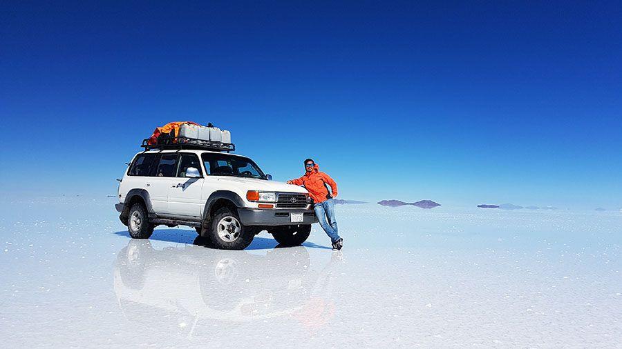 Viaje de turismo al Salar de Uyuni Bolivia
