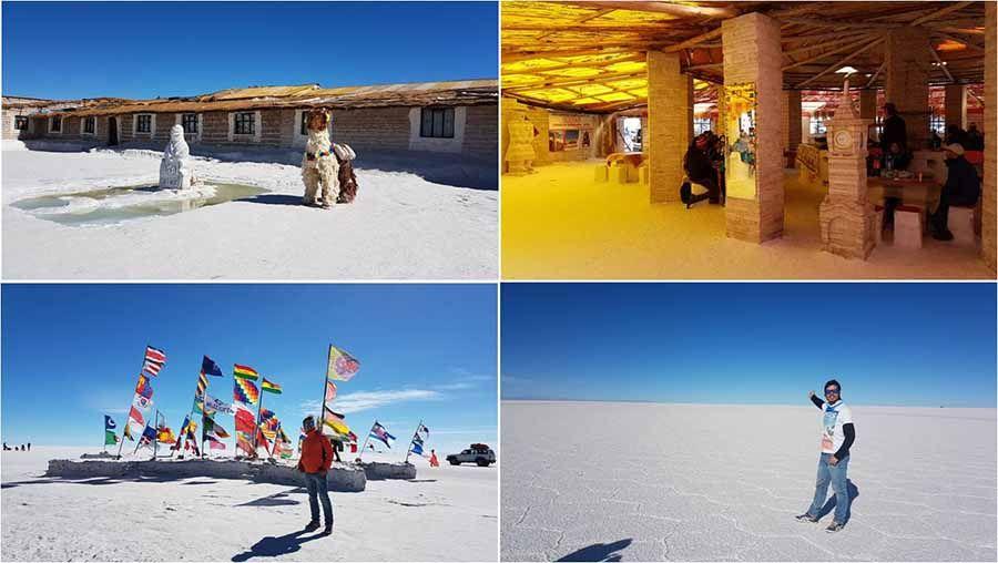 Lugares más importantes para visitar en el Salar de Uyuni Bolivia