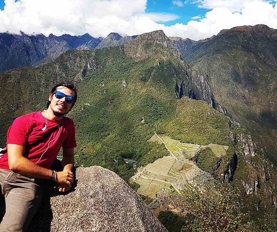 Subir al Huayna Picchu en Machu Picchu