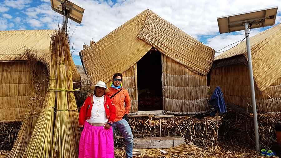 Excursión a las islas de los Uros e Isla Taquile en Lago Titicaca