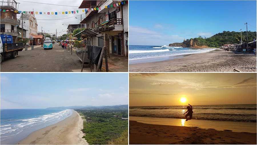 Que hacer en Ecuador - Viajar a Montañita - Playa de los Frailes