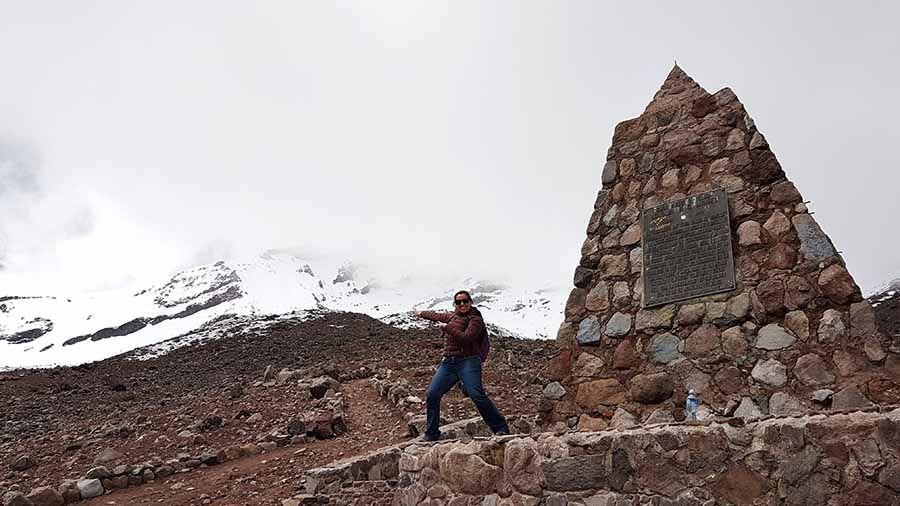 Viaje a Ecuador - Refugio 1 del Chimborazo