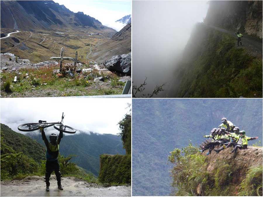 Excursión en bicicleta a la Carretera de la Muerte - Death Road - La Paz Bolivia