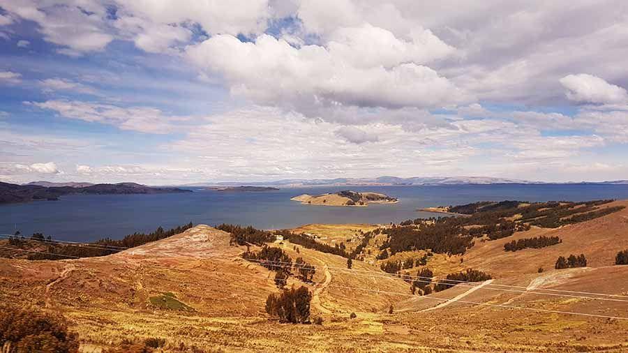 Como llegar de La Paz a Copacabana Lago Titicaca